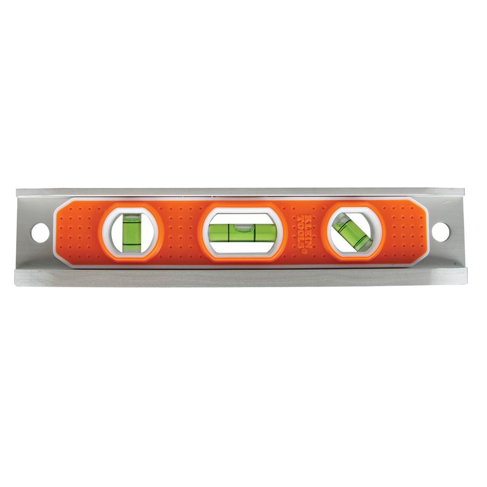 Klein Tools 9 in. Aluminum Torpedo Level with Rare Earth Magnet