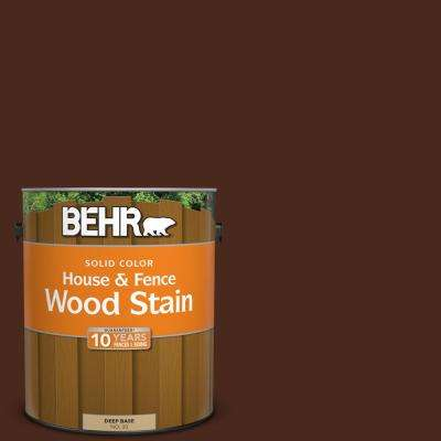 1 gal. #SC-117 Russet Solid Color House and Fence Wood Stain