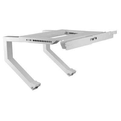 24 in. to 38 in. AC Support Bracket in White