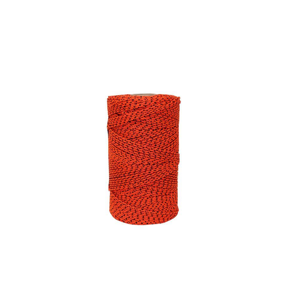685 ft. Super Tough Bonded Braided Nylon Line Orange and Black