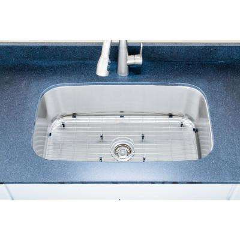The Craftsmen Series Undermount 31 in. Stainless Steel Single Bowl Kitchen Sink Package
