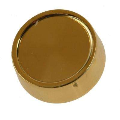 Dimmer Knob Wall Plate -Brass