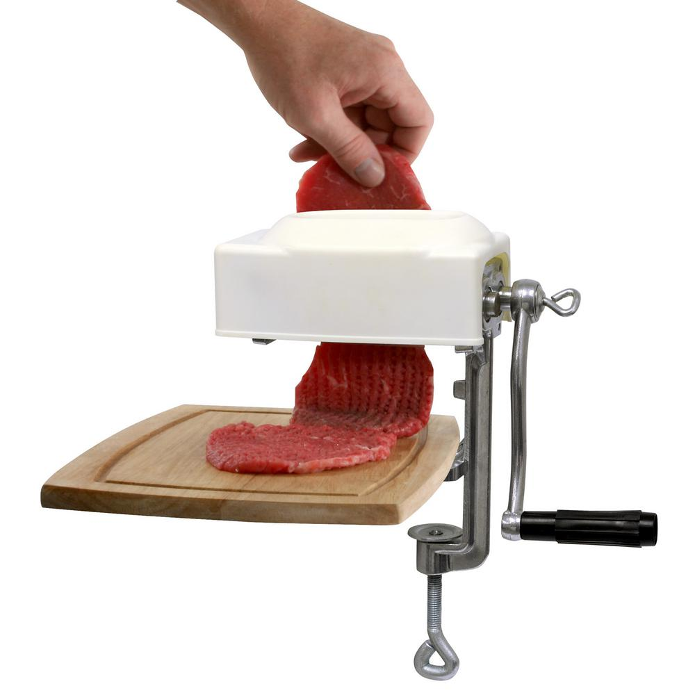Butchers Kitchen Meat Tenderizer : MEAT TENDERIZER AND CUBER MACHINE Kitchen Clamp On Countertop Commercial Strong eBay