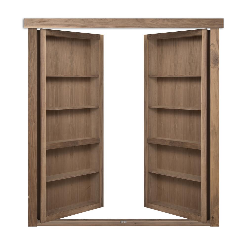 the murphy door 72 in x 80 in flush mount assembled. Black Bedroom Furniture Sets. Home Design Ideas