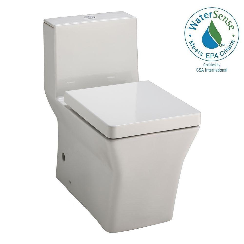 KOHLER Reve 1-piece 0.8 or 1.6 GPF Dual Flush Elongated Toilet in White