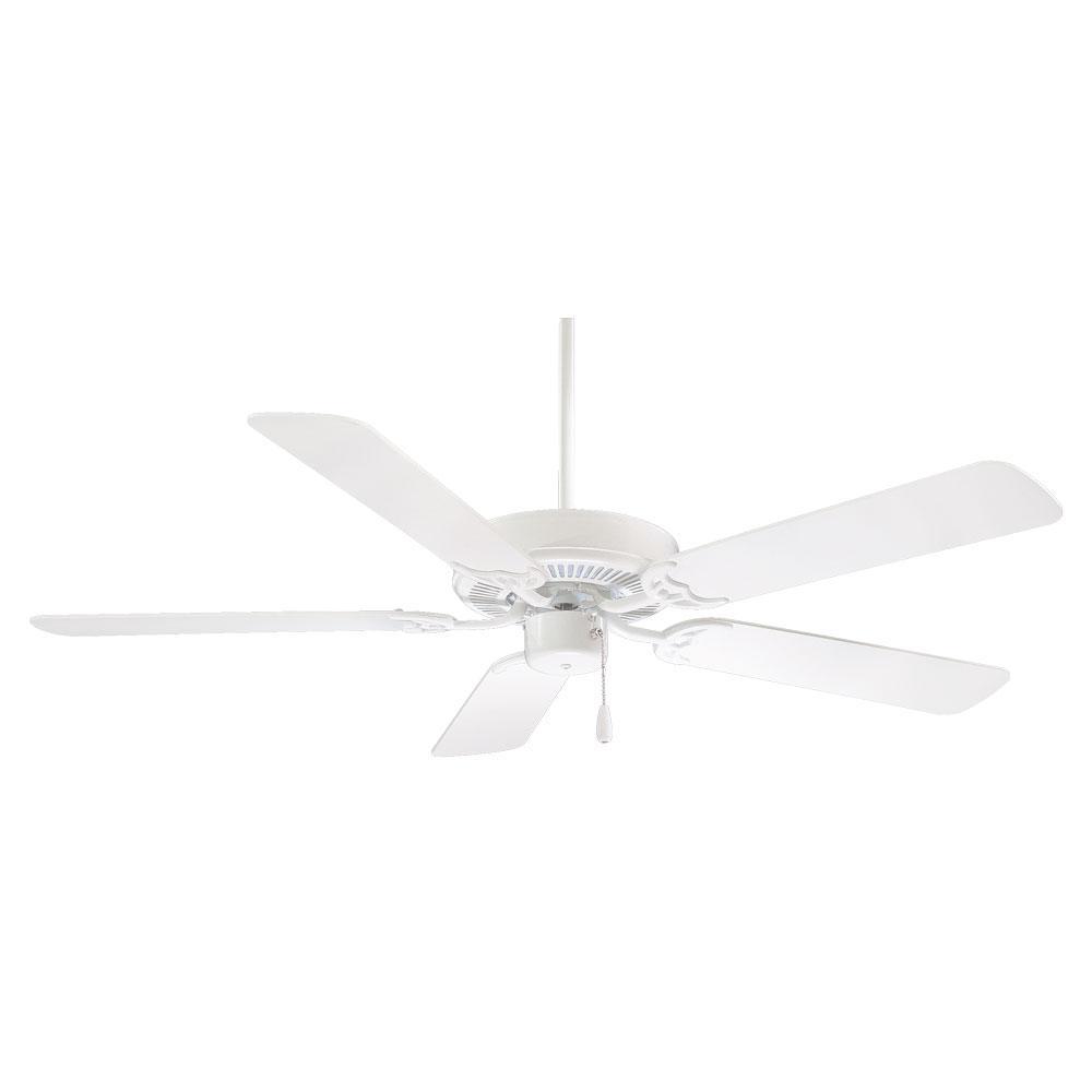 Contractor 52 in. Indoor White Ceiling Fan
