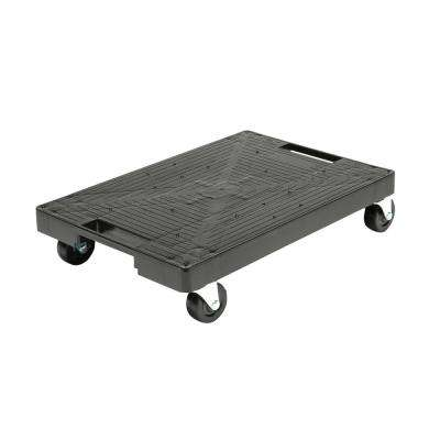 16 in. x 11 in. Multi-Purpose Black Garage Dolly
