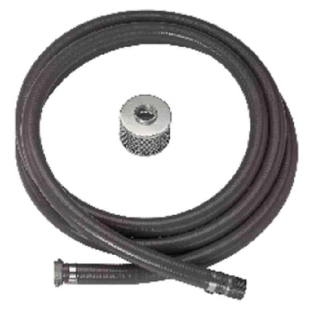 Parts20 2 in. x 15 ft. Suction Hose for Gas Engine Drive Pumps