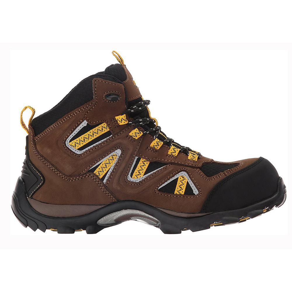 Stanley Trench Mid Men Size 8 Brown LeatherMesh Composite Toe Waterproof Work Boot FSH5163S 20