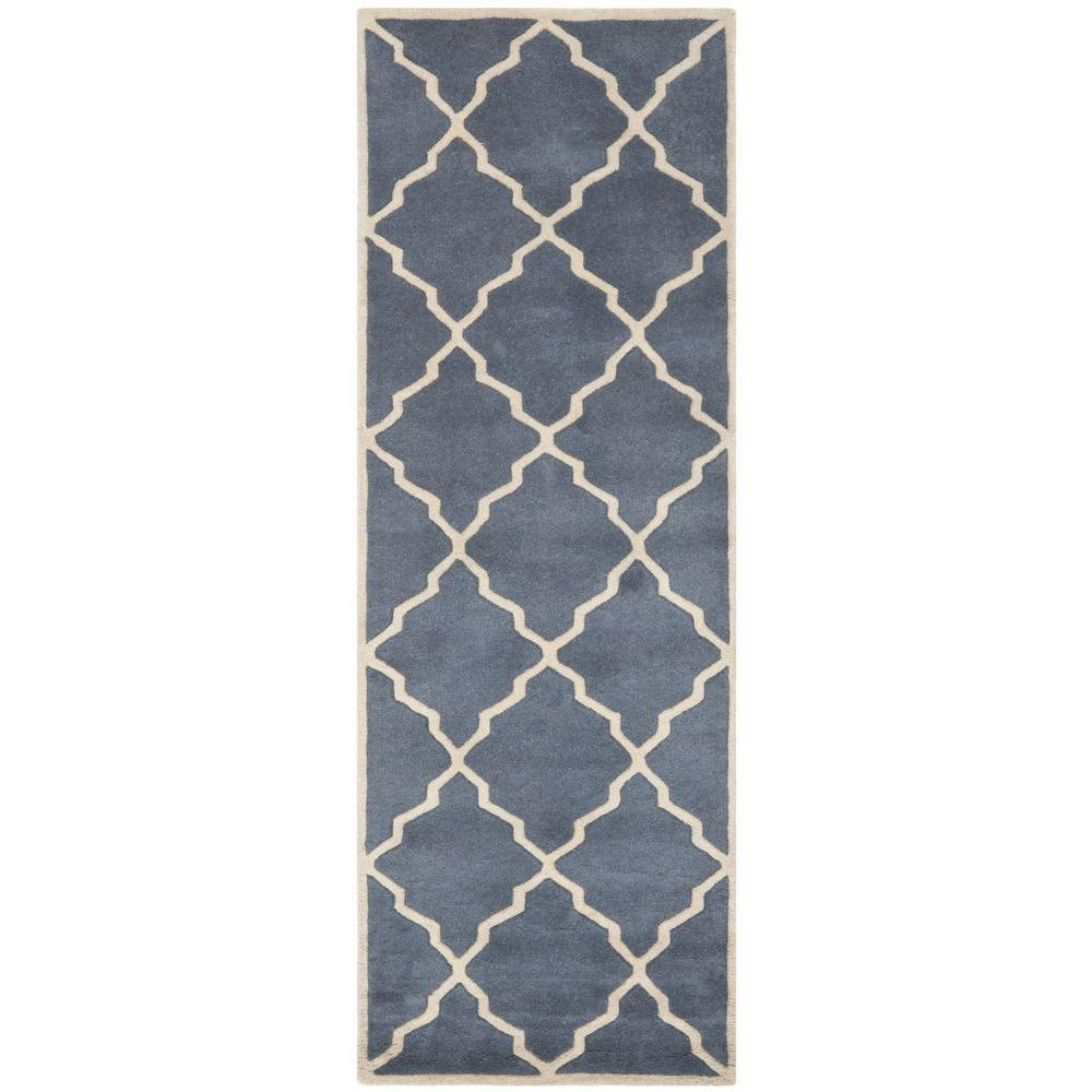 Chatham Grey 2 ft. 3 in. x 7 ft. Rug Runner