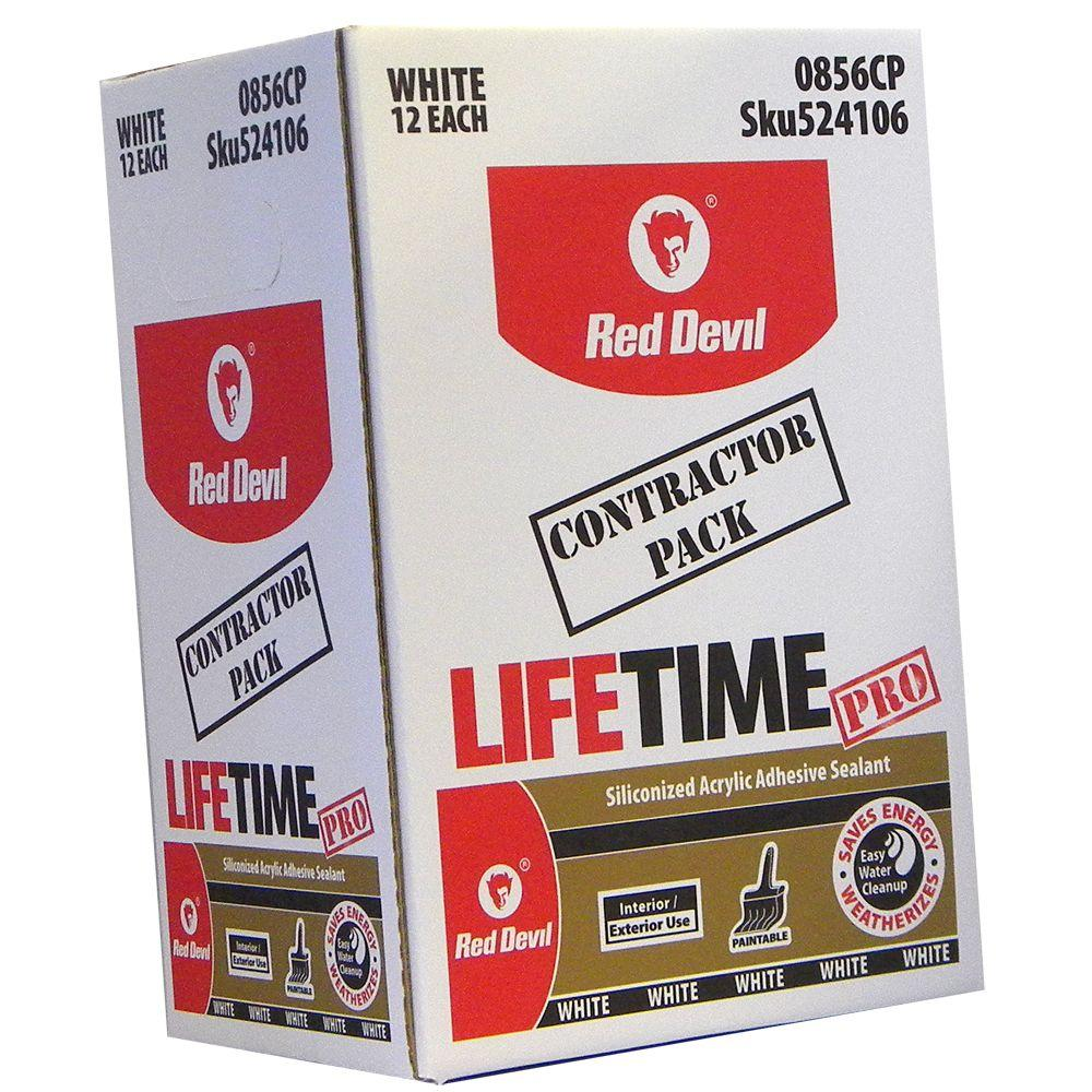 Red Devil 10.1 oz. Pro Adhesive Sealants (12-Pack)