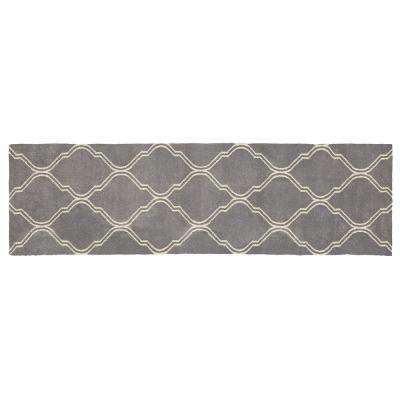 Walton Pewter 2 ft. x 7 ft. Runner Rug