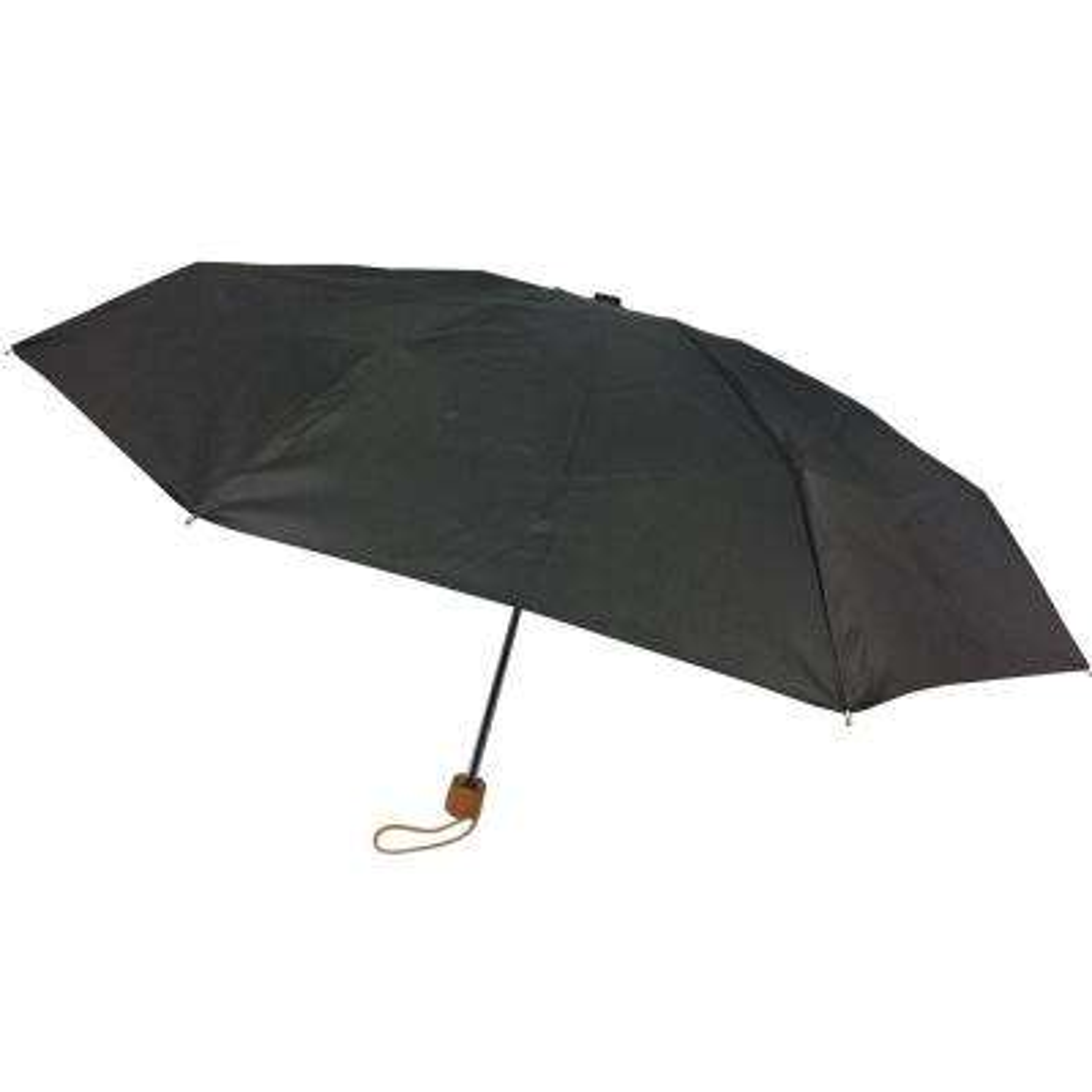 42 in. Black Arc Ultra Mini Manual Umbrella