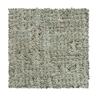8 in. x 8 in. Pattern Carpet Sample - Corry Sound - Color Soft Smoke