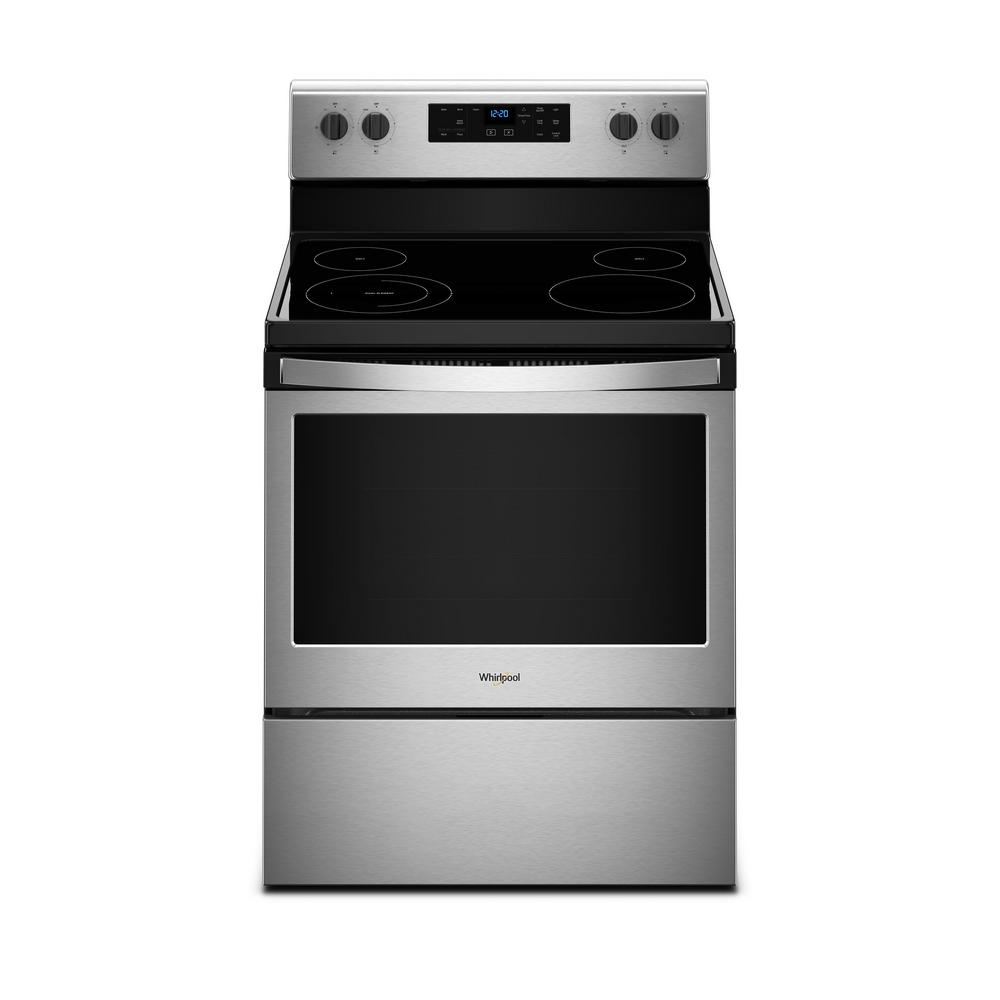 Whirlpool 5.3 cu. ft. Electric Range with Self-Cleaning O...