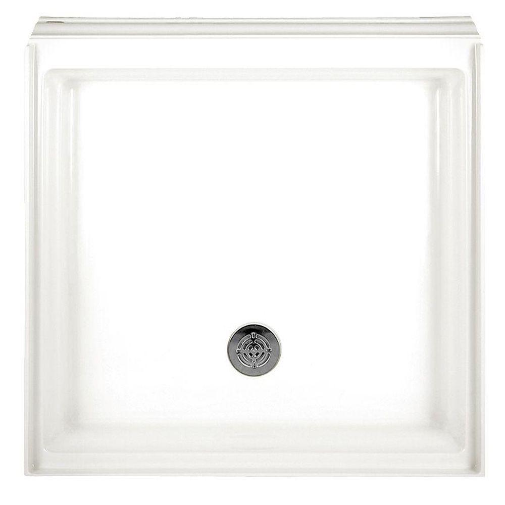 American Standard Town Square 36 in. x 36 in. Single Threshold Shower Base in White