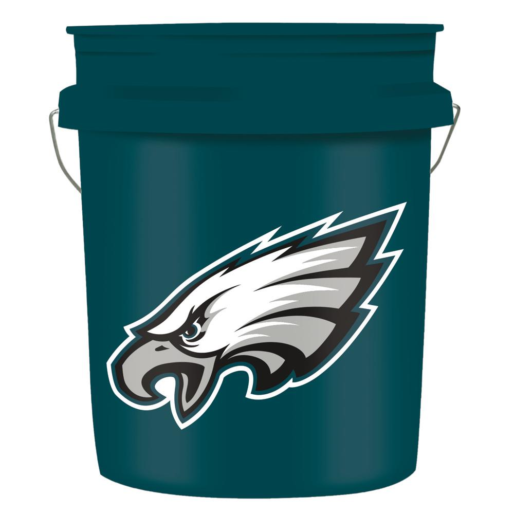 5 gal. Philadelphia Eagles Bucket