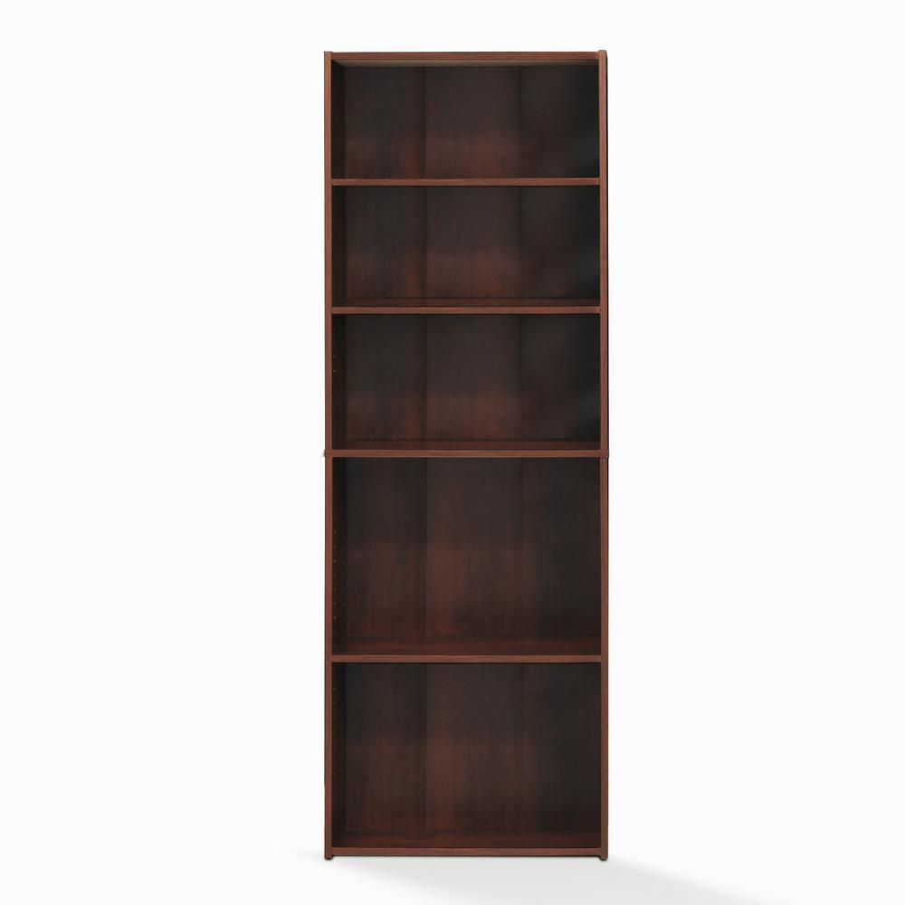 Wright Brook Cherry 5-Shelf Bookcase