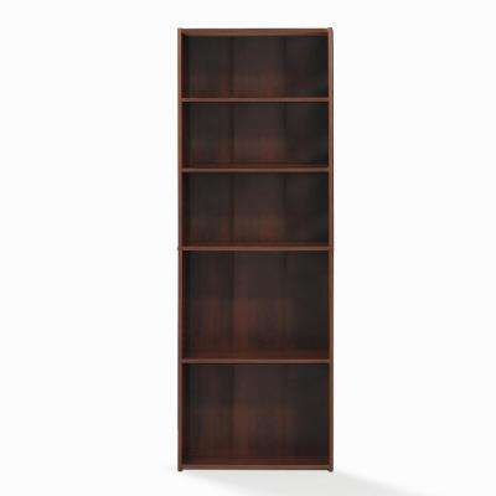 Wright Brook Cherry 5 Shelf Bookcase