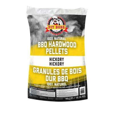 Hickory All Natural Harwood Pellets