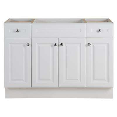 Glensford 48 in. W x 22 in. D Bathroom Vanity Cabinet in White