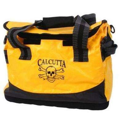 13 in. Yellow and Black Large Boat Bag