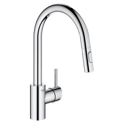Concetto Single-Handle Pull-Out Sprayer Kitchen Faucet 1.75 GPM in StarLight Chrome