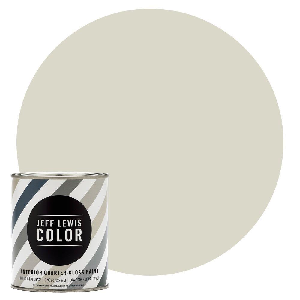 Jeff Lewis Color 1-qt. #JLC210 Bone Quarter-Gloss Ultra-Low VOC ...