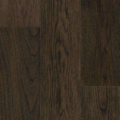 Take Home Sample - Sepia Brown Hickory Waterproof Engineered Hardwood Flooring - 5 in. x 7 in.