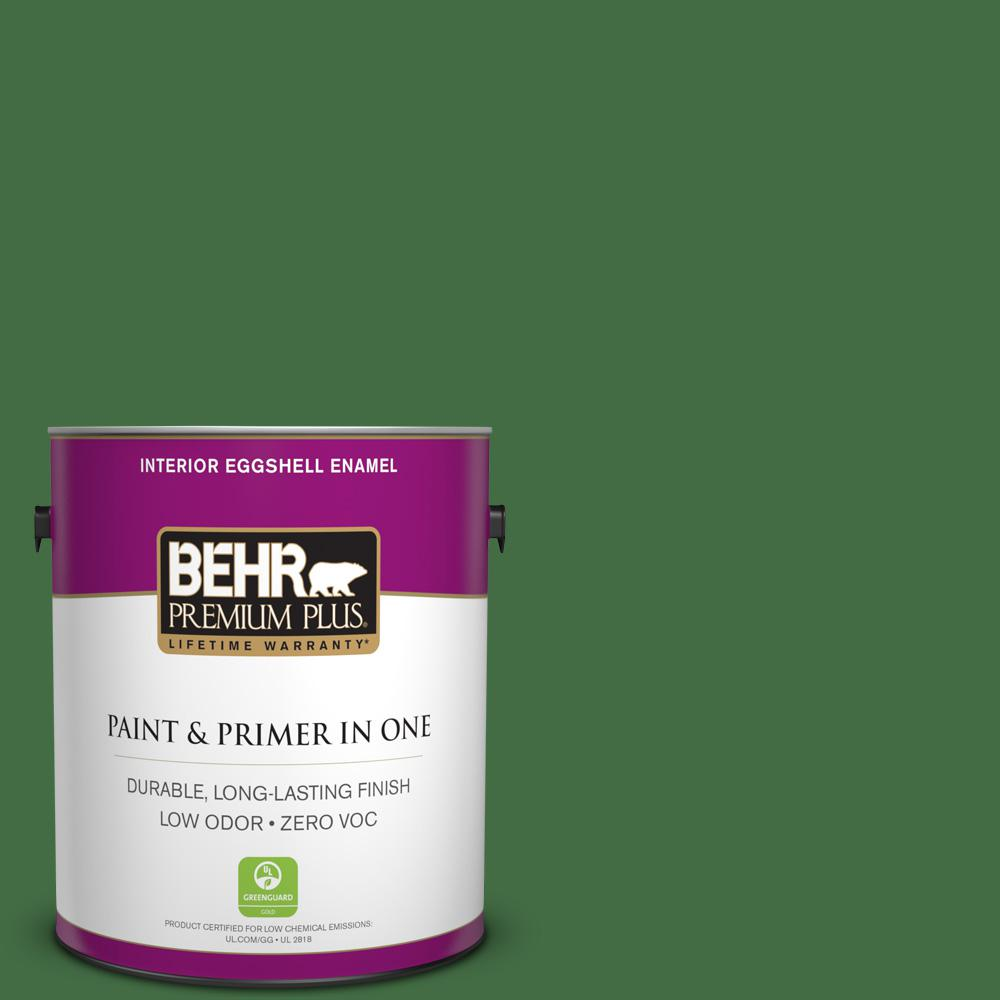 1 gal. #440D-7 Vineyard Eggshell Enamel Zero VOC Interior Paint and