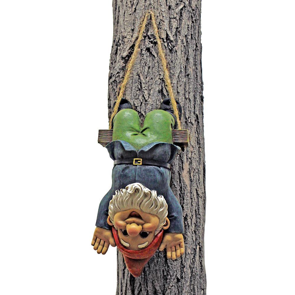 11 in. H Alfie the Acrobat Swinging Gnome Statue