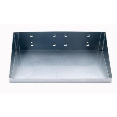 12 in. W x 6 in. D Silver Epoxy Powder Coated Steel Shelf