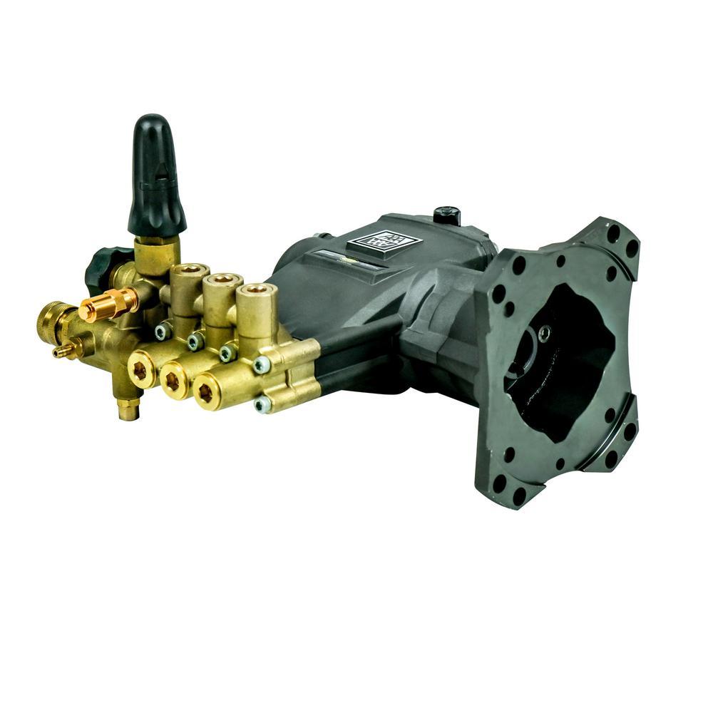 4200 PSI 4.0 GPM AAA Triplex Industrial Plunger Pump Kit