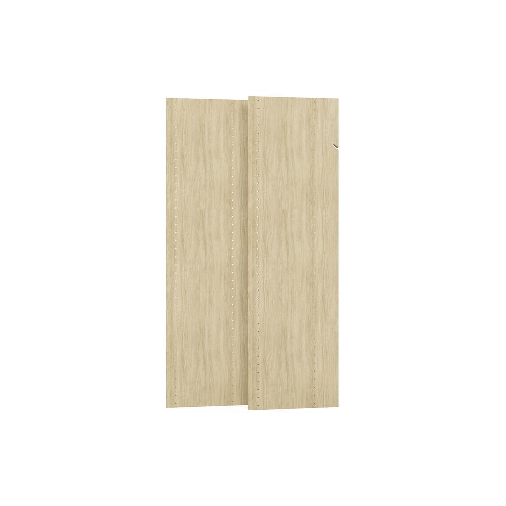 14 in. x 48 in. Harvest Grain Wood Vertical Panels (2-Pack)