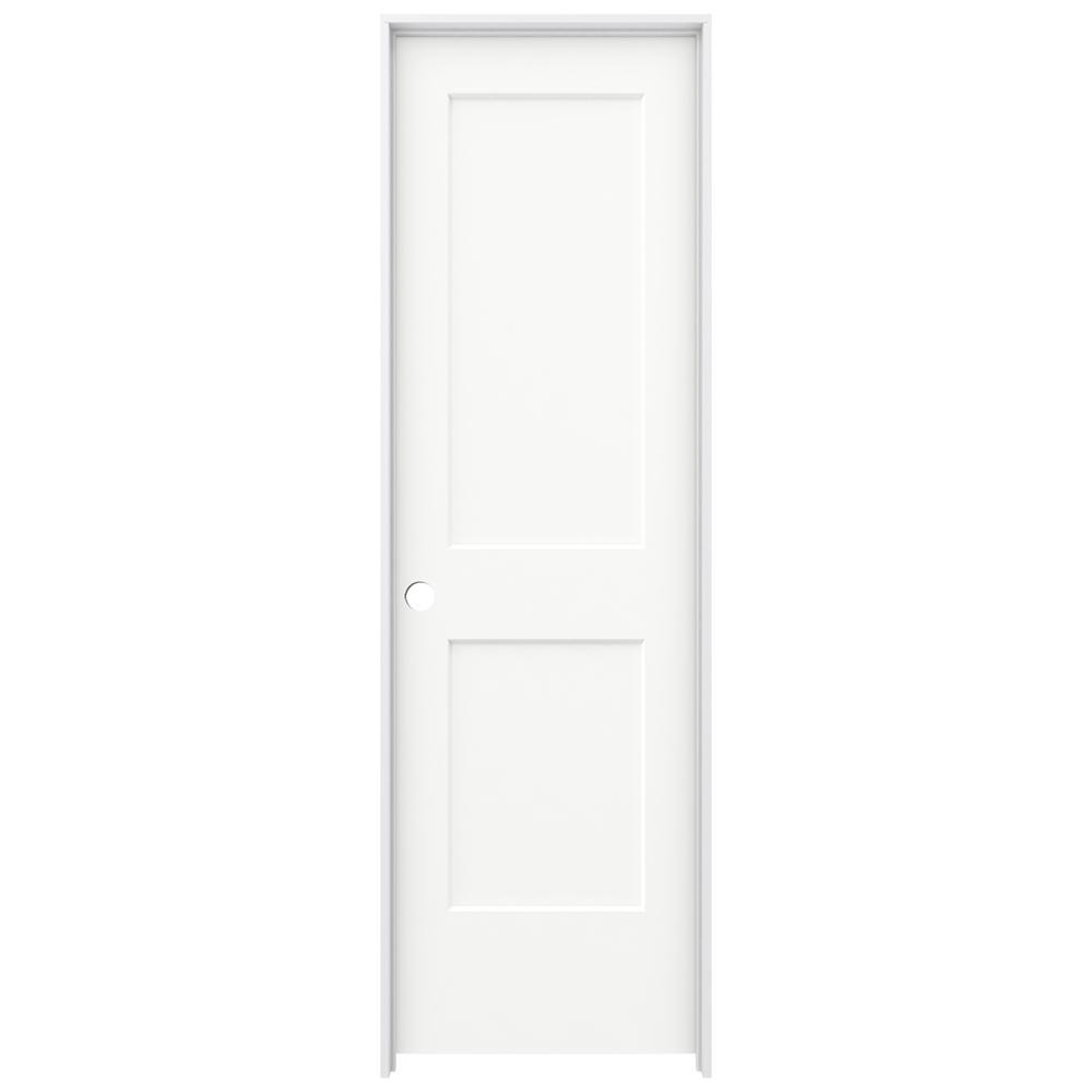 Masonite 24 in x 80 in solidoor riverside 5 panel solid core smooth primed composite single for Masonite interior doors review