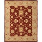 Anatolia Red/Sage 8 ft. x 10 ft. Area Rug