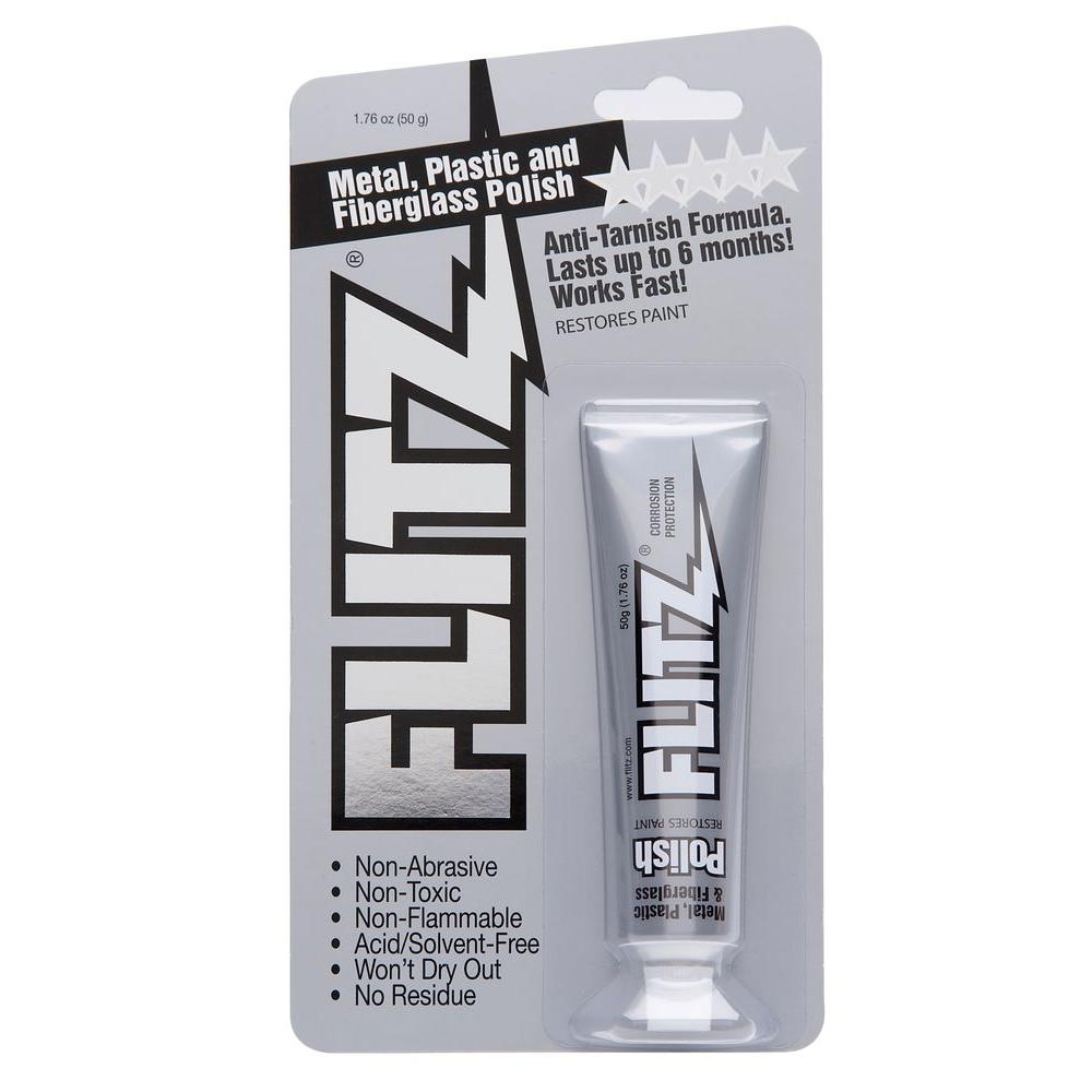 1.76 oz. Blue Metal, Plastic and Fiberglass Polish Paste Blister Tube