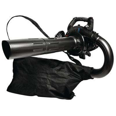 150 MPH 450 CFM 2-Cycle 27cc Gas Handheld Leaf Blower with Vacuum/Mulch Kit and JumpStart Capabilities