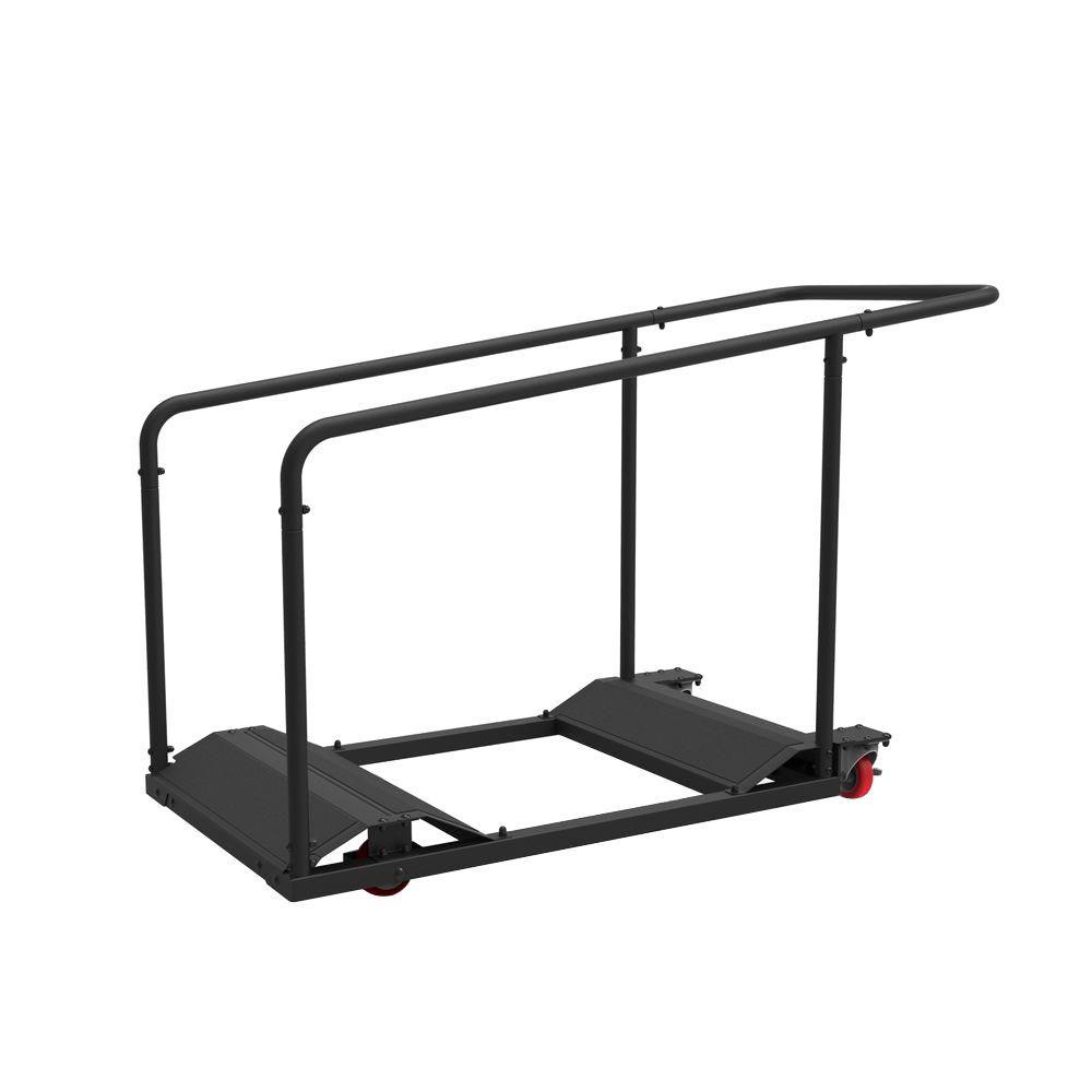 1-Tier Steel Table Cart