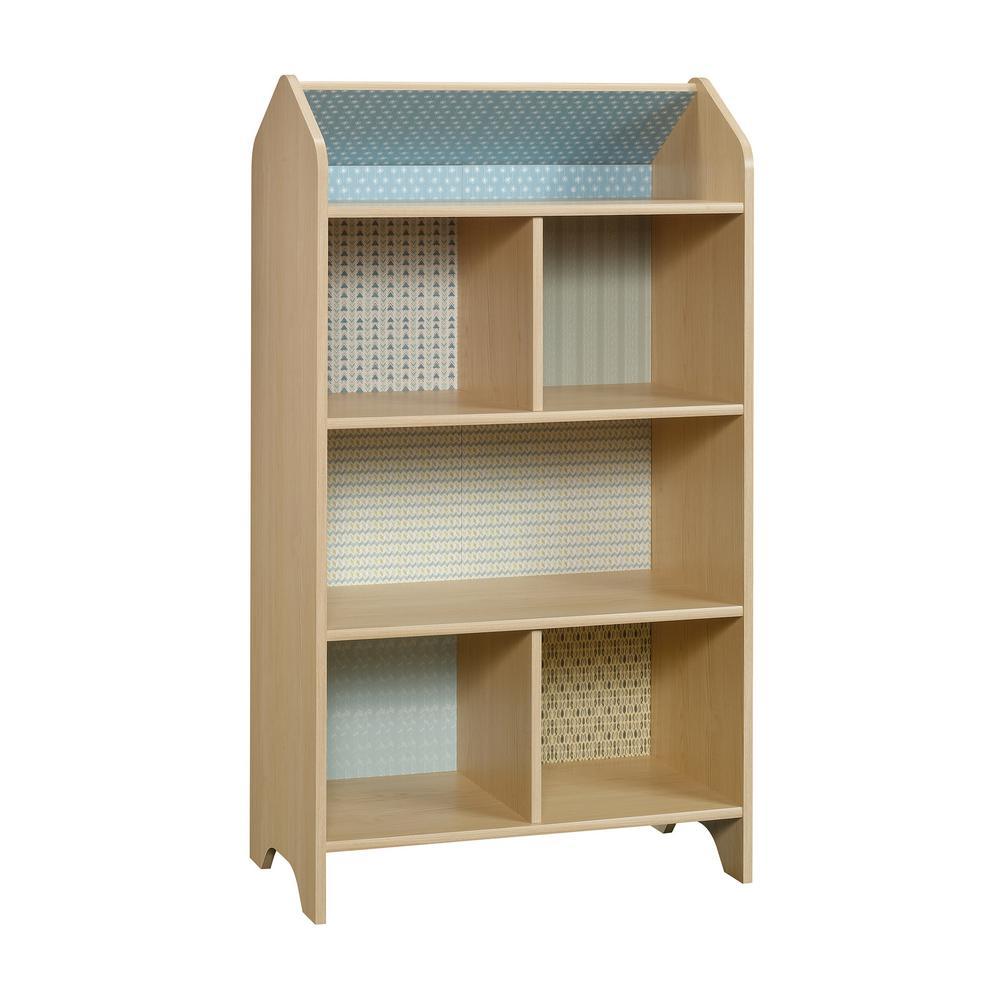 SAUDER Pinwheel Urban Ash Dollhouse Bookcase-422430
