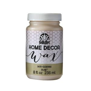 Home Decor 8 oz. Clear Wax Finish