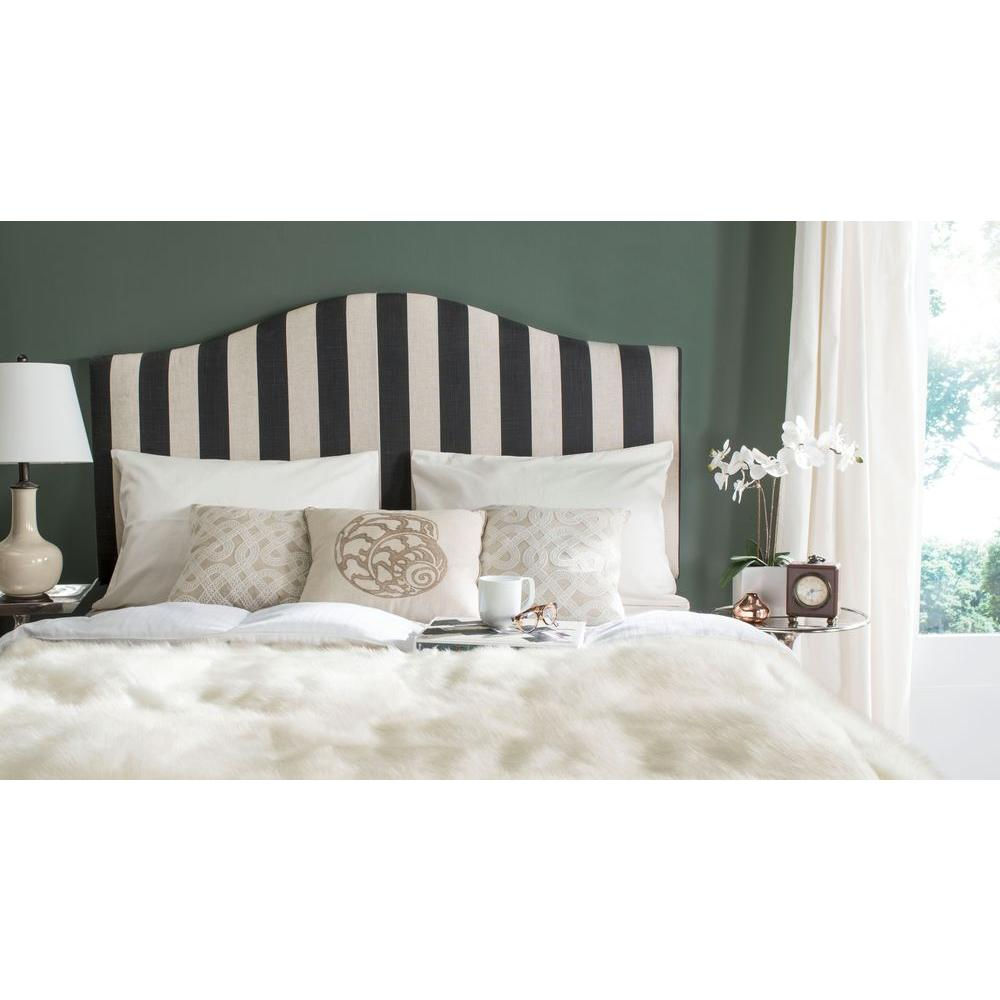 Connie Black And White Queen Headboard