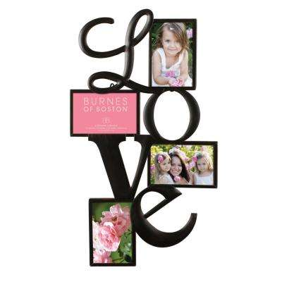 4 in. x 6 in. Bronze Picture Frame