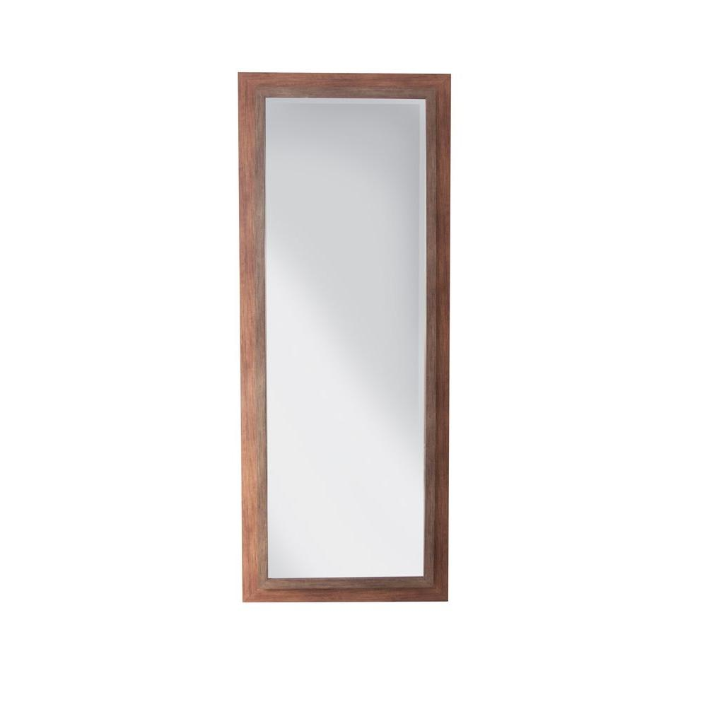 Simpli Home 67 in. x 27 in. Portland Decorative Framed Mirror-DISCONTINUED