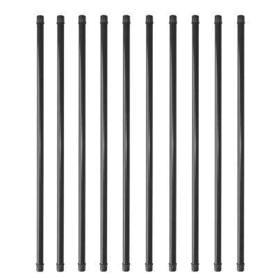 36 in. x 3/4 in. Round Baluster with Plastic End Caps (10-Pack)