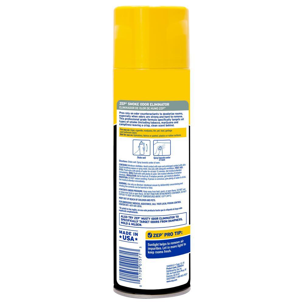 ZEP 16 oz  Smoke Odor Eliminator Air Freshener Spray