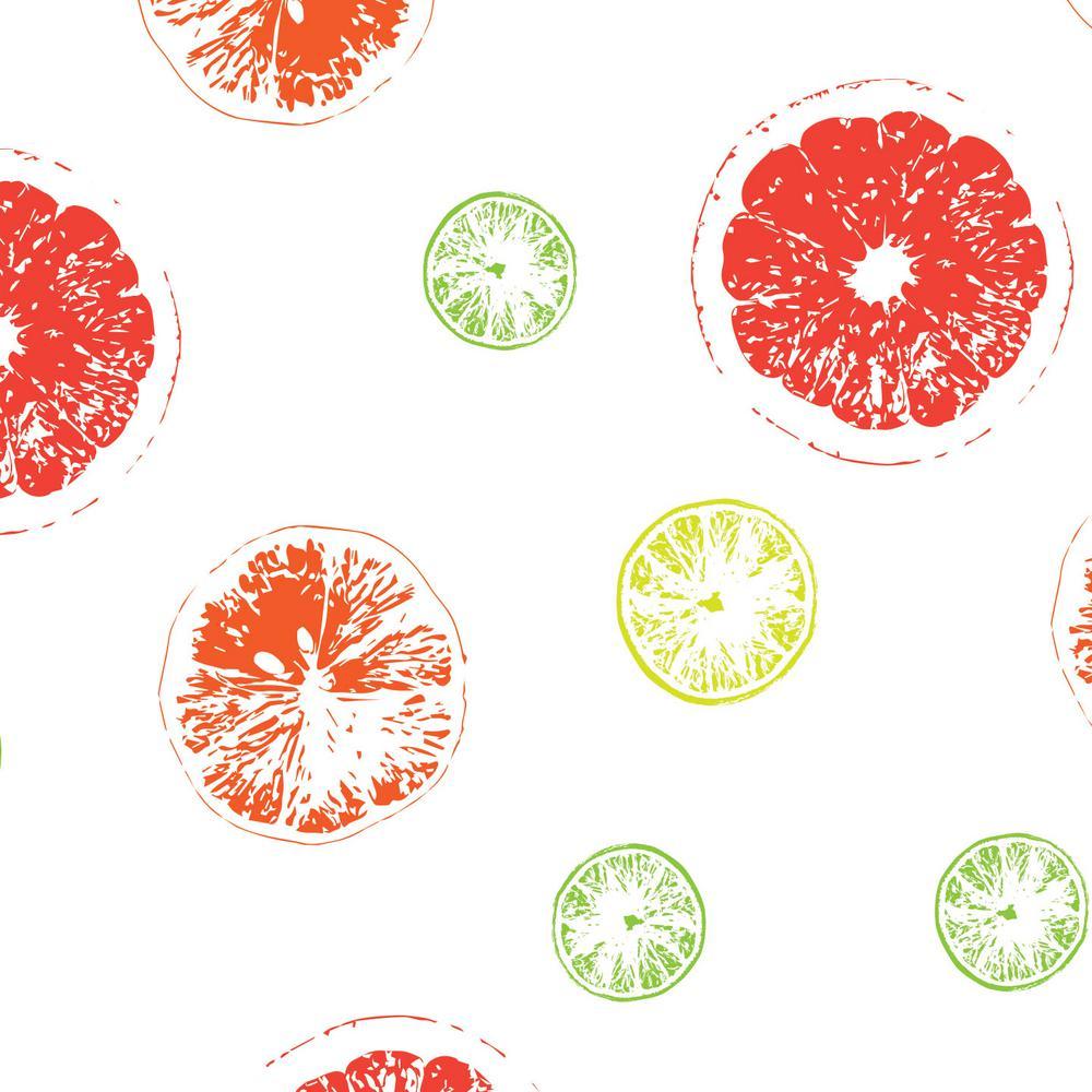 8 in. x 10 in. Laminate Sheet in Citrus Zest with Virtual Design Matte Finish