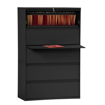 800 Series Black File Cabinet