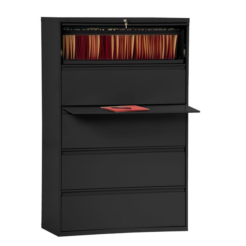 Sandusky 800 Series Black File Cabinet LF8F425-09