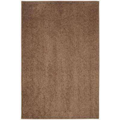 Value Plush Milk Chocolate 8 ft. x 12 ft. Area Rug
